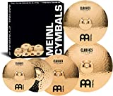 Meinl Cymbals CC-141620+18 Classics Custom Bonus Pack Cymbal Box Set with 18'' Crash