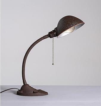 FACAIG Lámpara de Mesa, Plancha American Retro Hacer Antiguo ...