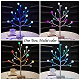 Bolylight LED Tree Multi-Color Frosted Ball Light Table Lamp Night Light Great Decoration for Home/Christmas/Party/Festival/Wedding