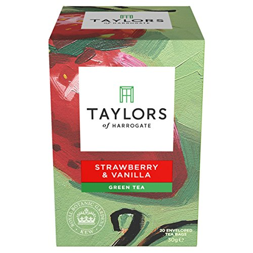 (Taylors of Harrogate Strawberry & Vanilla Green Tea, 20 Teabags)