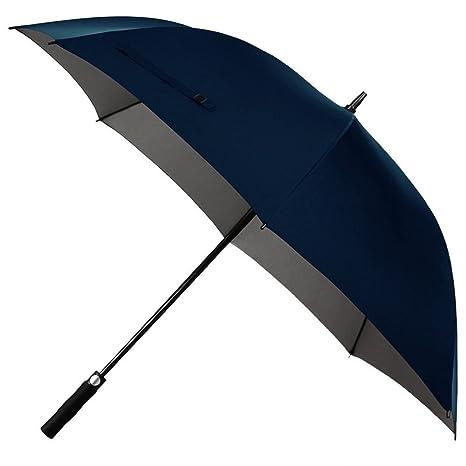 Guoke Mango Largo Paraguas Grandes Números Dobles De Larga Reforzada Triple Sobredimensionado, Paraguas, Un