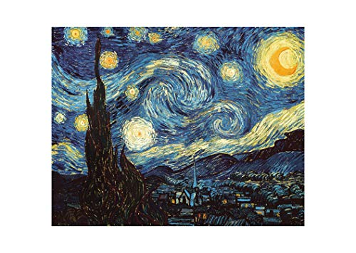 Starry Night Scene - DIY Paint by Numbers Kit for