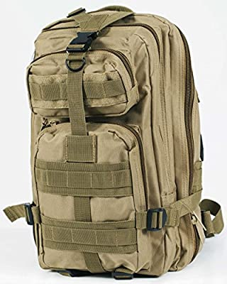 Amistoly Clearance Sale! Tactical Military Backpack With Hydration - Outdoor Hiking Backpack, Travel Bag For Men - Water-Resistant, 600D Nylon
