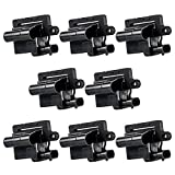 MAS Set of 8 Brand New Compatible Ignition Coil UF271 52-1618 5C1083 C1208 GN10298 for CHEVY GMC CADILLAC 5.3L 6.0L 8.1L 4.8L H6T55171ZC B314 IC400 C561 9201052 IC328 3859078