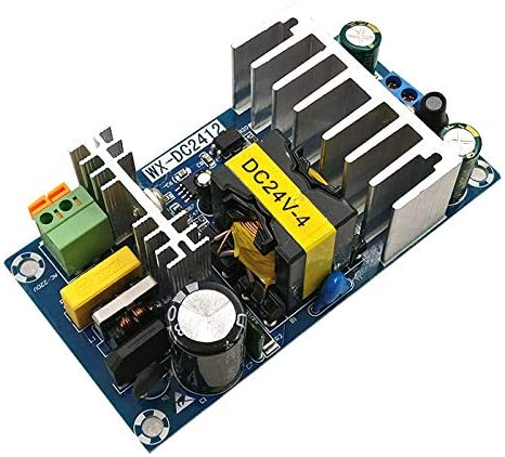 LuxtechPro Switching Power Supply Board 24V High Power 4A 6A Module Bare Board AC DC
