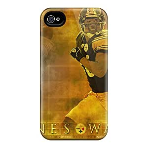 Heather S Foster Snap On Hard Case Cover Pittsburgh Steelers Protector For Iphone 4/4s