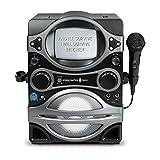 The Singing Machine STVG529BK Karaoke System with 5.5'' Black/White Monitor (Certified Refurbished)