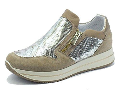 IGI&Co - Zapatillas para deportes de exterior para mujer MARRON/BEIGE 37 MARRON/BEIGE