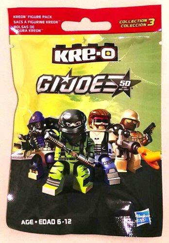 Amazon.com: Kre-O GI Joe Kreon Series 3 Blind Pack Figure ...