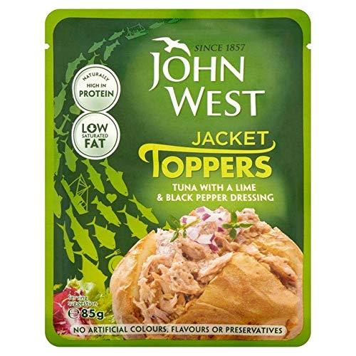 (John West Tuna Lime & Pepper Pouch 85g)