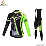 MALCIKLO Professional Quick-dry Men's Long Sleeve Cycling Jerseys? Full Sleeve Riding Wear Breathable Cycling Fitness Set Bicycle Clothing Shirts Riding Apparel