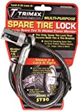 "Trimax ST30 Trimaflex Spare Tire Cable Lock (Round Key) 36"" x 12mm"