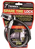 Trimax ST30 Trimaflex Spare Tire Cable Lock (Round Key) 36'' x 12mm