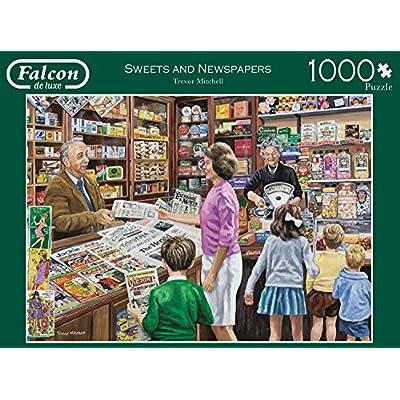 Jumbo 11236 Falcon De Luxe Sweets E Giornali Puzzle Da 1000 Pezzi