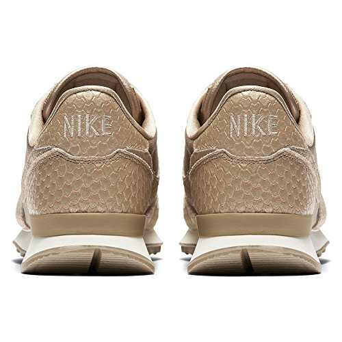 Nike Damen Internationalist Premium Beige Textil / Wildleder Sneaker Beige (sfocatura / Marrone Chiaro O Bianco / Bianco Sommità)