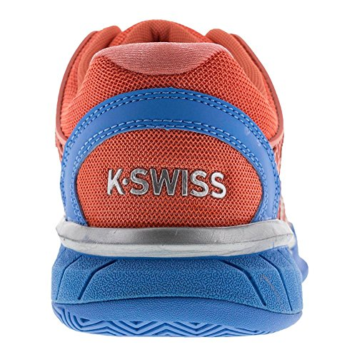 K-swiss Womens Hypercourt Express-w Scarpa Da Tennis Fusion Coral / Bonnie Blue