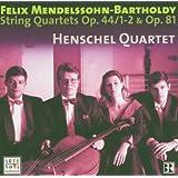 Mendelssohn-Bartholdy: String Quartets Vol. 3 Op.44 / 1-2 & Op.81