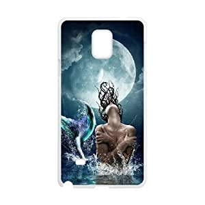 Samsung galaxy note 4 N9100 The little mermaid Phone Back Case Customized Art Print Design Hard Shell Protection YG018156