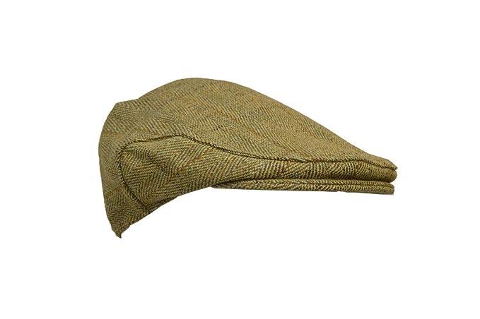 chata unisex de tweed color verde salvia claro Gorra tipo cazador Walker /& Hawkes