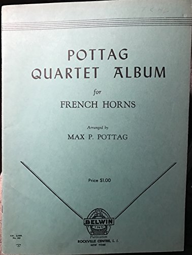 Potag Quartet Album for French Horns (Sheet Music) ()