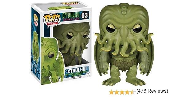 Funko Pop! - Vinyl: Literature: HP Lovecraft Cthulhu (4816): Funko Pop! Books:: Amazon.es: Juguetes y juegos