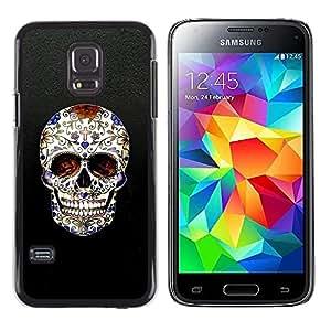 Be Good Phone Accessory // Dura Cáscara cubierta Protectora Caso Carcasa Funda de Protección para Samsung Galaxy S5 Mini, SM-G800, NOT S5 REGULAR! // Skull Cross Christian Death Bli