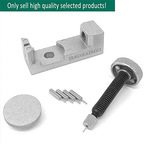 HAOBAIMEI-Watch-Band-Strap-Link-Pin-Remover-Repair-Tool-Kit-for-Watchmakers-with-Pack-of-4-Extra-Pins-Watch-Band-Sizing-Tool-Apple-Watch-Band-Adapter-Watch-Accessoriessilver