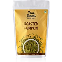 True Elements Roasted Pumpkin Seeds (Unsalted), 125gm