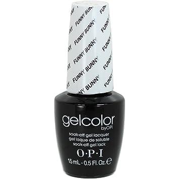 506f6f11e6e OPI Gelcolor -Gel Colour - FUNNY BUNNY - 15ml  Amazon.ca  Beauty