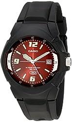 CASIO Men's MW600F-4AV Black Sport Watch