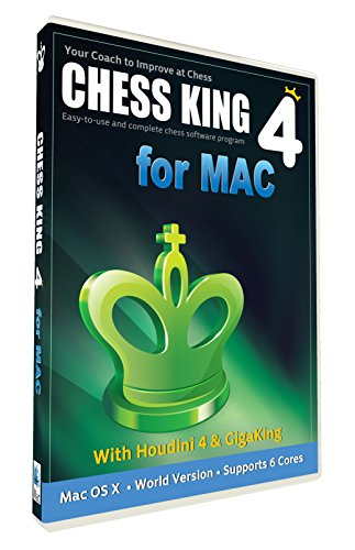 Chess King 4 with Houdini 4 Chess Software for Mac by ChessKing
