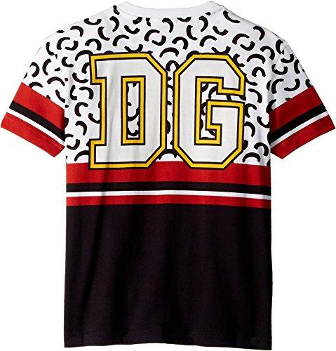 Dolce & Gabbana Kids Boy's King of Hearts T-Shirt (Big Kids) White 10 by Dolce & Gabbana (Image #1)