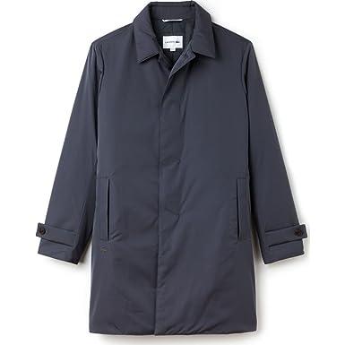 ac91c9e86 Lacoste Men s Standard Travel Pack-Rain Coat - Gray -  Amazon.co.uk ...