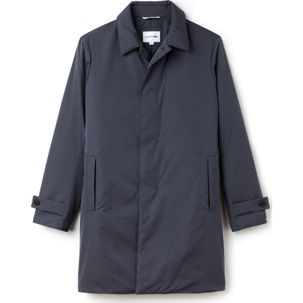 Lacoste Men's Travel Pack-Rain Coat, Graphite, XS