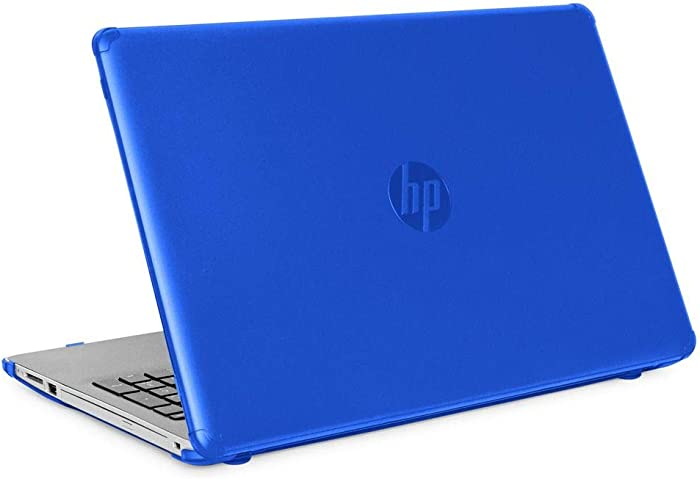 """mCover Hard Shell Case for New 2020 15.6"""" HP 15-DYxxxx Series Notebook PC (Blue)"""