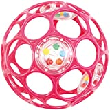 Oball - Rattle 10 cm Pink
