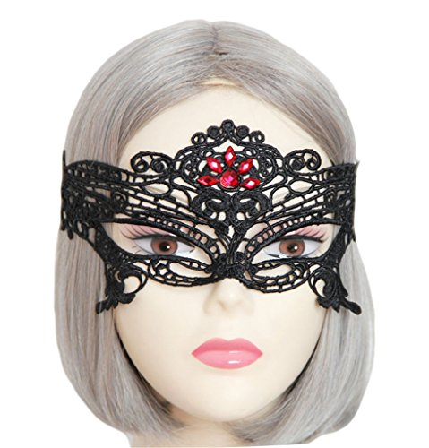 Sexy Black Lace Masquerade Mask For Cross Dresser Decoration Mask Costume Ball Party