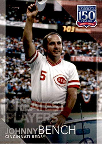 2019 Topps 150 Years of Baseball Greatest Players #GP-4 Johnny Bench Cincinnati Reds MLB Baseball Trading Card