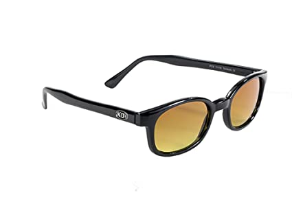 127cd3a566 Amazon.com   Original X-KD s Biker Blue Buster Amber Gradient 20% Larger  Sunglasses   Everything Else