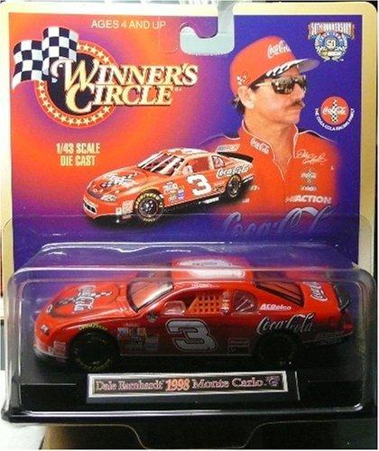 Race Sr Earnhardt Dale (Winner's Circle - Dale Earnhardt 1998 Monte Carlo - 1/43 Scale Die Cast)