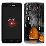 Skin Decal for HTC Droid DNA - Grim Reaper Halloweeneen