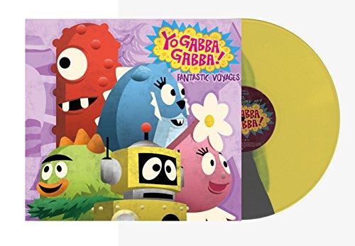 (Yo Gabba Gabba! - Fantastic Voyages Exclusive Yellow/Silver Split)