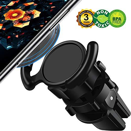 DAXANZ Universal Air Vent Car Phone Mount Holder,Clip Phone Holder for Car,360