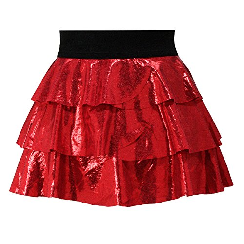 13 Costumes You'll See (High Quality Red Glitter and Sparkle Running Skirt Tutu, Size)