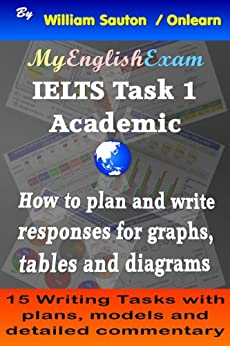 IELTS Task 1 Academic: How to Plan and Write Responses for Graphs, Tables and Diagrams (English Edition) de [Sauton, William]
