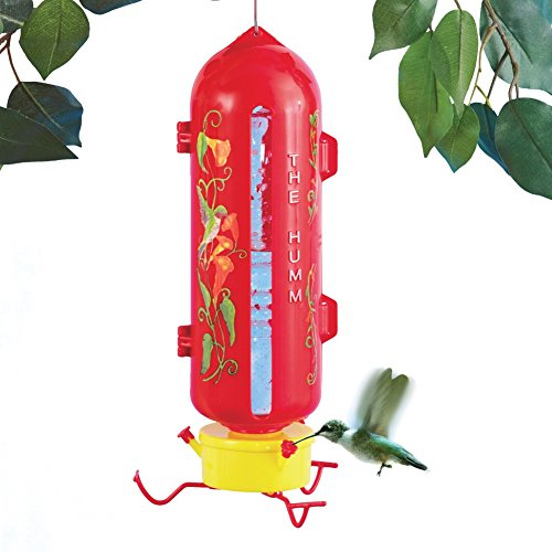 Humm Hummingbird Bottle Feeder Red