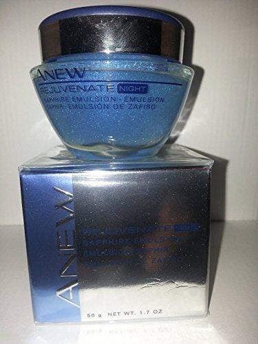 1.7 Ounce Emulsion (Avon Anew Rejuvenate Night Sapphire Emulsion 1.7 Oz.)