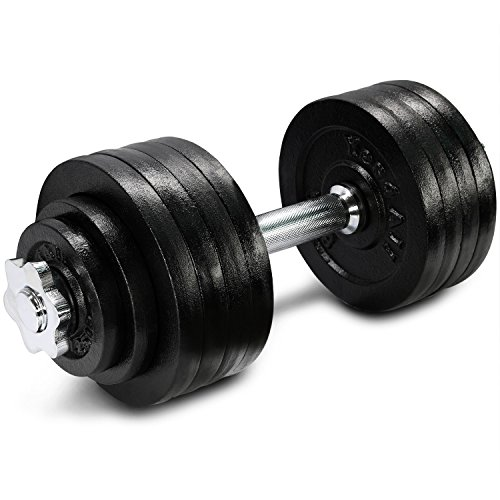 Yes4All Adjustable Dumbbells - 52.5 lb Dumbbell Weights (Single)