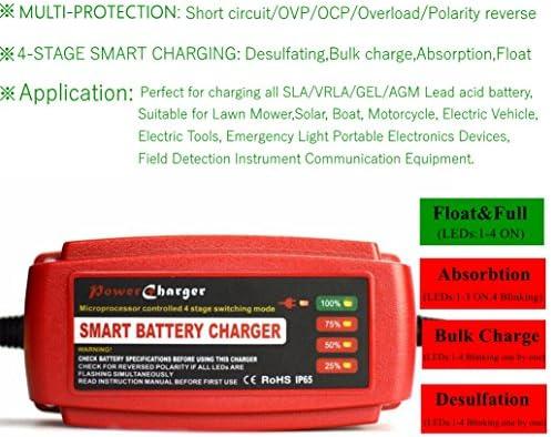 Cargador de baterías tipo AGM, GEL, estancas o VRLA, para ...