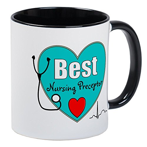 CafePress - Best Nursing Preceptor Blue Mugs - Unique Coffee Mug, Coffee Cup